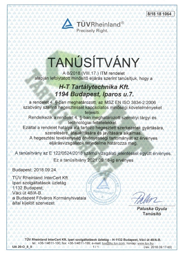 MSZ EN ISO 3834-2:2006