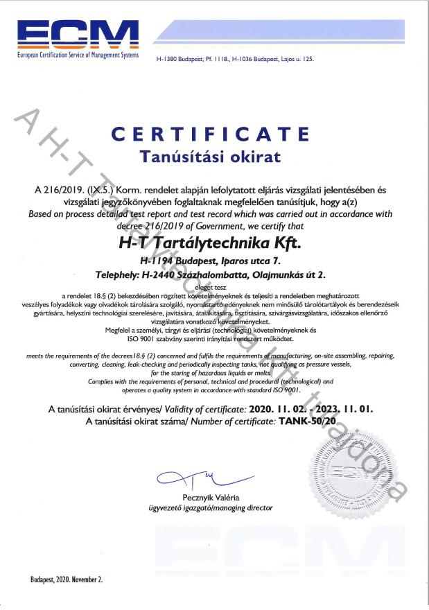 216/2019. (IX.5.) Korm. rendelet